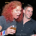 carrot Top enjoying the moment